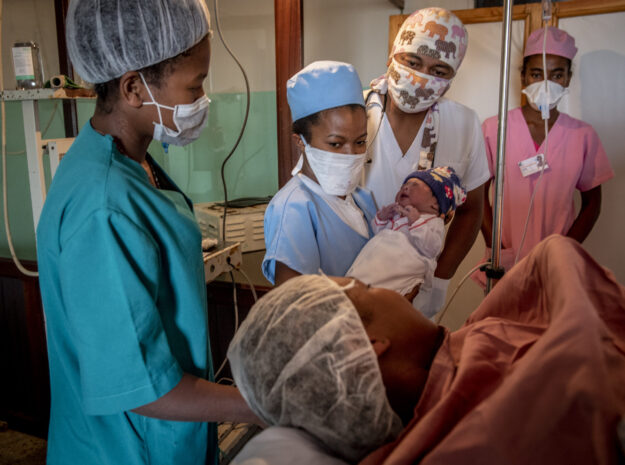 Major causes of maternal and newborn morbidity and mortality are linked